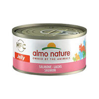 Almo Nature HFC 70 Jelly Kattenvoer - Blik - Zalm