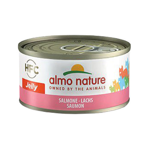 Almo Nature HFC 70 Jelly Cat Food - Tin - Salmon