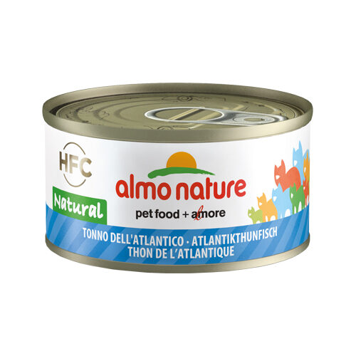 Almo Nature HFC 70 Natural Kattenvoer - Blik - Atlantische Tonijn