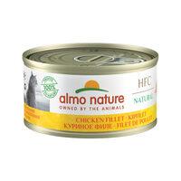 Almo Nature HFC 70 Natural Kattenvoer - Blik - Kipfilet