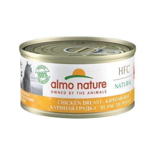 Almo Nature HFC 70 Natural Katzenfutter - Dosen - Hühnerbrust
