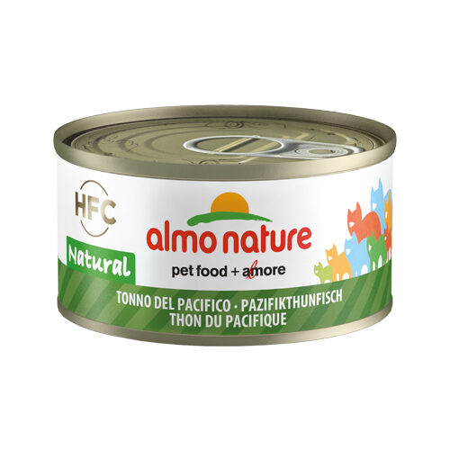 Almo Nature HFC 70 Natural Cat Food - Canned Food - Pacific Tuna