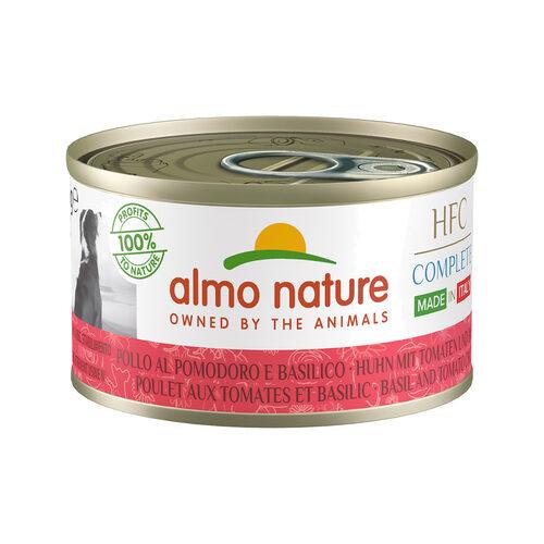 Almo Nature HFC Complete Made in Italy Hondenvoer - Blik - Kip met Tomaat en Basilicum