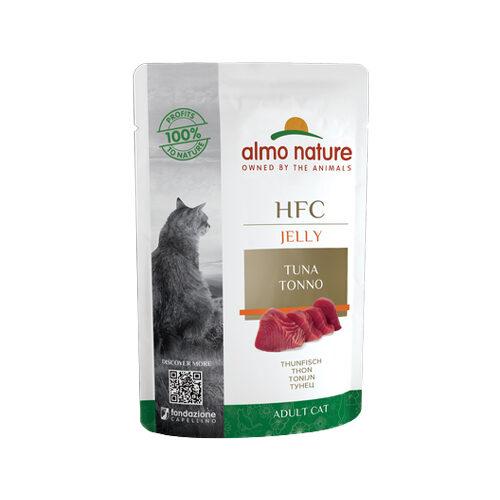 Almo Nature HFC Jelly Kattenvoer - Maaltijdzakje - Tonijn