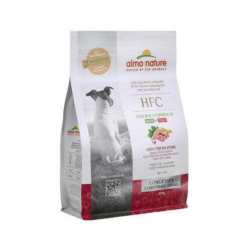 Almo Nature HFC Longevity (Extra) Small Dog Food - Pork