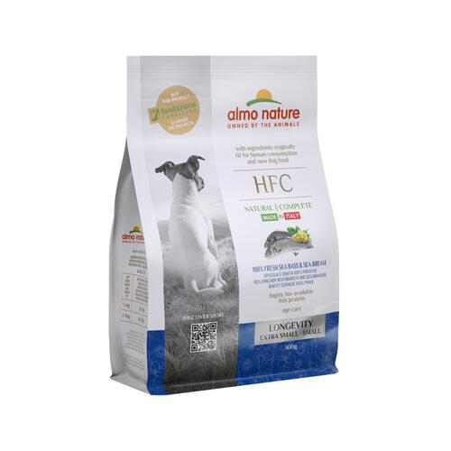 Almo Nature HFC Longevity (Extra) Small Hondenvoer - Zeebaars & Zeebrasem