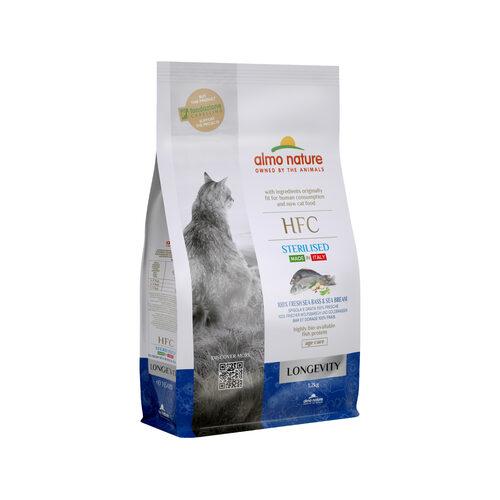 Almo Nature HFC Longevity Sterilised Katzenfutter - Wolfsbarsch & Seebrasse