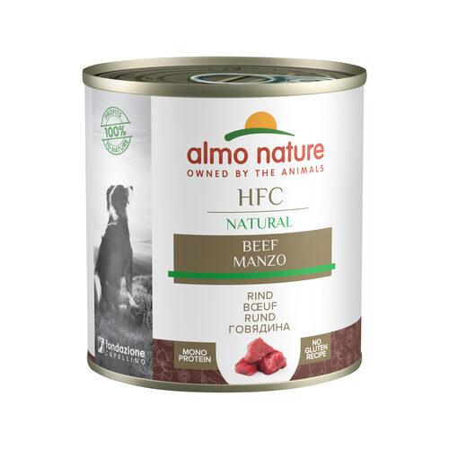 Almo Nature HFC Natural Dog Food | Tin | Beef