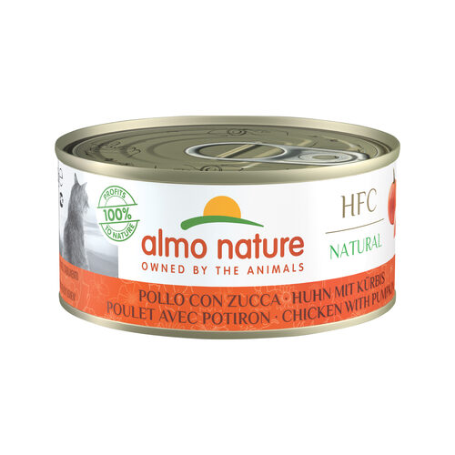 Almo Nature HFC Natural Cat Food - Chicken & Pumpkin