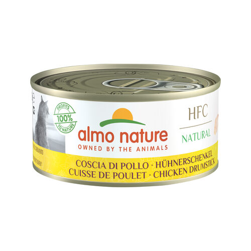 Almo Nature HFC Natural Alimentation  pour chat - Pilon de poulet