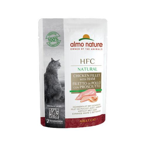 Almo Nature HFC Natural Katzenfutter - Hühnerbrust & Schinken