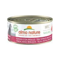 Almo Nature HFC 150 Natural Kattenvoer - Tonijn & Kip