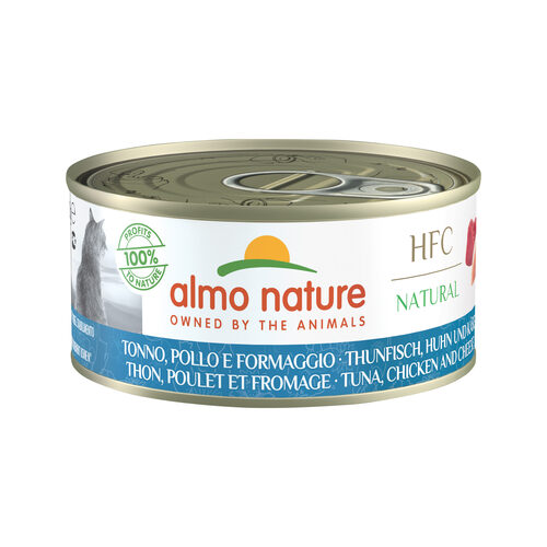Almo Nature HFC Natural Cat Food - Tuna, Chicken & Cheese