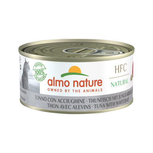 Almo Nature HFC Natural Alimentation pour chat - Thon et blanchaille