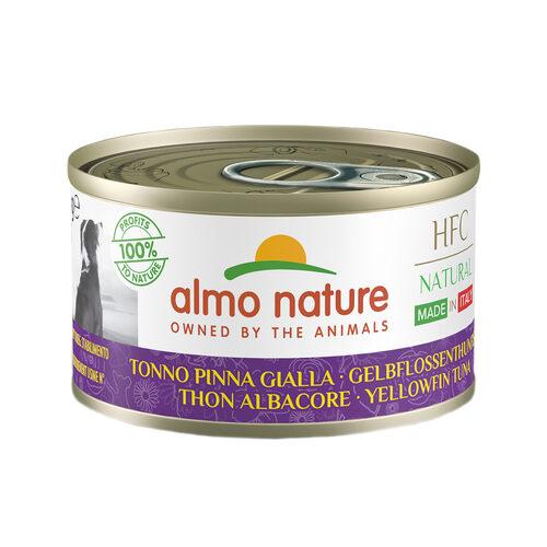 Almo Nature HFC Natural Made in Italy Hondenvoer - Blik - Geelvintonijn