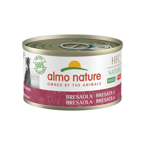 Almo Nature HFC Natural Made in Italy Hondenvoer - Bresaola