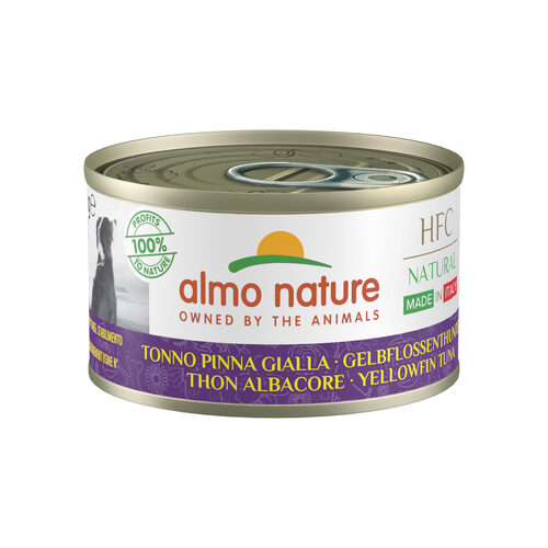 Almo Nature HFC Natural Made in Italy Alimentation pour chien- Thon jaune