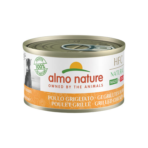 Almo Nature HFC Natural Made in Italy Alimentation pour chien - Poulet grillé