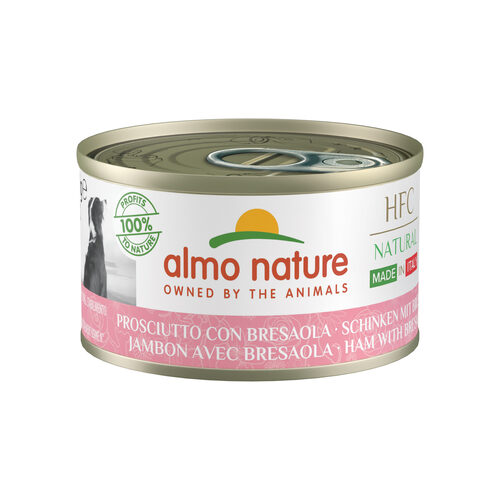 Almo Nature HFC Natural Made in Italy Hondenvoer - Ham & Bresaola