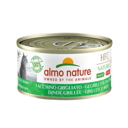 Almo Nature HFC Natural Made in Italy Kattenvoer - Blik - Gegrilde Kalkoen