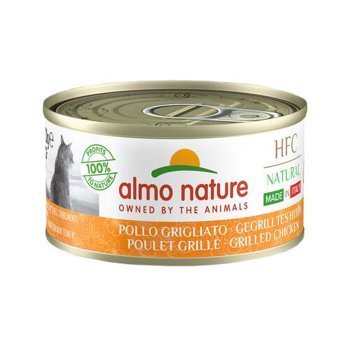 Almo Nature HFC Natural Made in Italy Kattenvoer - Blik - Gegrilde Kip