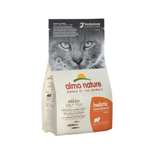 Almo Nature Holistic Adult Kattenvoer - Witvis en Rijst