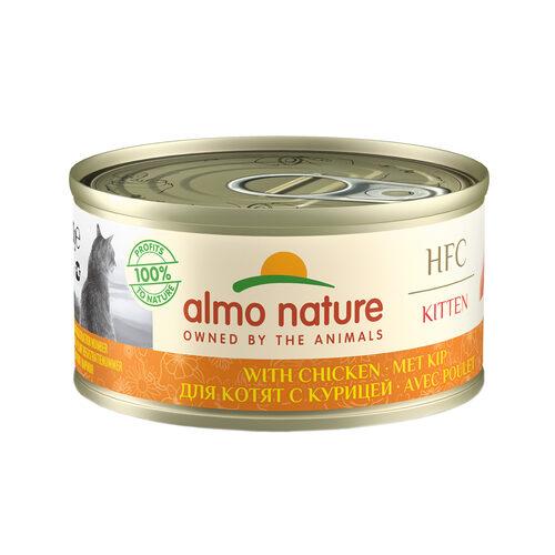 Almo Nature Kitten - HFC 70 - Cat Food - Tin - Chicken