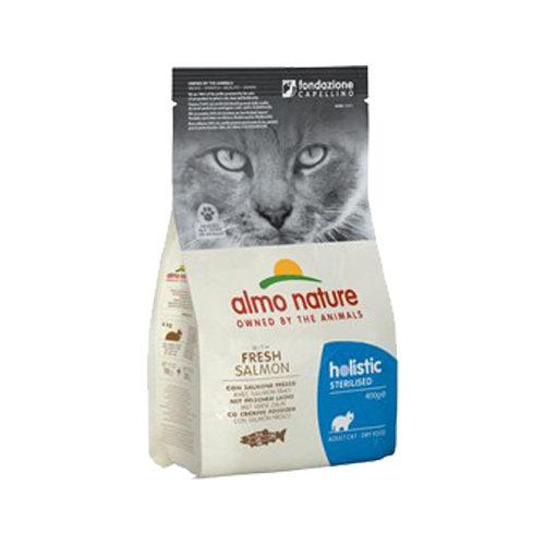 Almo Nature Sterilised Cat Food - Salmon and Rice