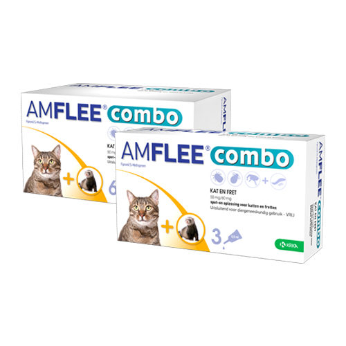 Amflee Combo Spot-on Cat and Ferret