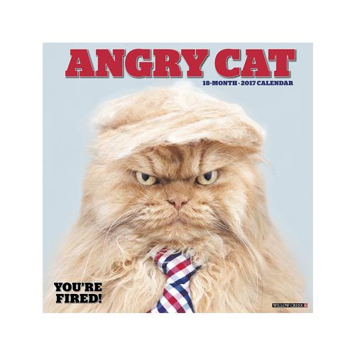 Angry Cat Calendar 2018