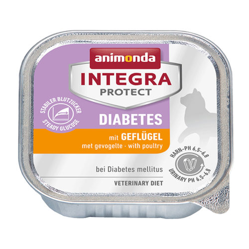 Animonda Integra Protect Cat Diabetes - Poultry