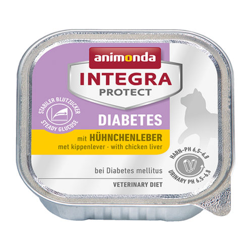 Animonda Integra Protect Cat Diabetes - Kippenlever
