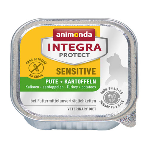 Animonda Integra Protect Cat Sensitive - Turkey & Potato