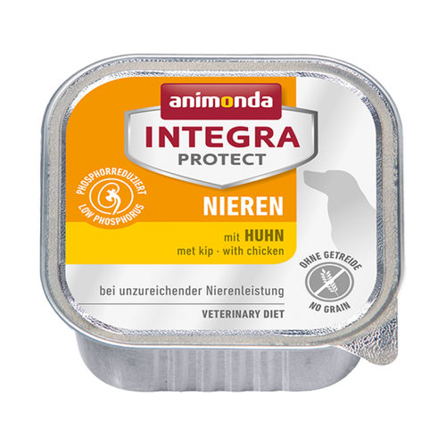 Animonda Integra Protect Dog Nieren - Huhn - Schälchen