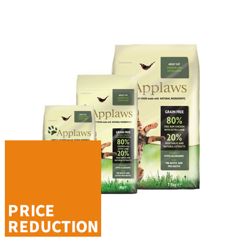 Applaws Cat Food - Adult - Chicken & Lamb