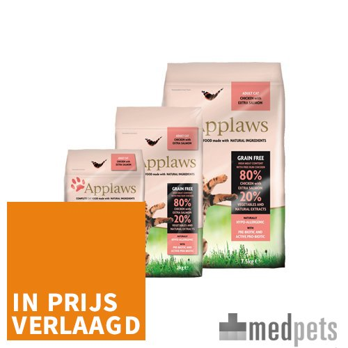 Product afbeelding van Applaws Cat - Adult - Chicken & Salmon