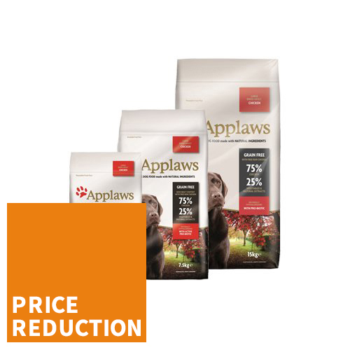 Applaws Dog Food - Adult Large Breed - Chicken