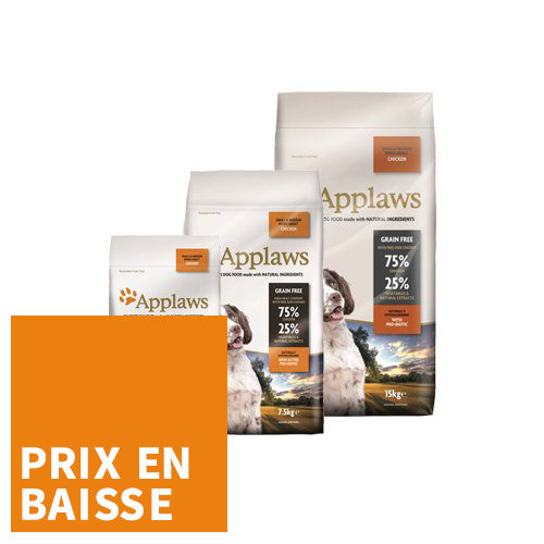 Applaws Dog - Adult Small & Medium - Poulet - pour Chien