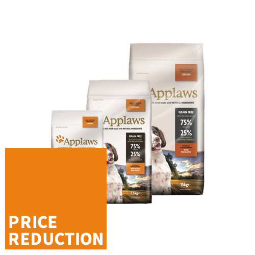 Applaws Dog Food - Adult Small & Medium - Chicken