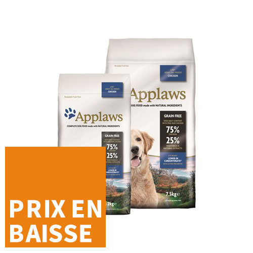 Applaws Dog - All Breeds Light - Poulet - pour Chien