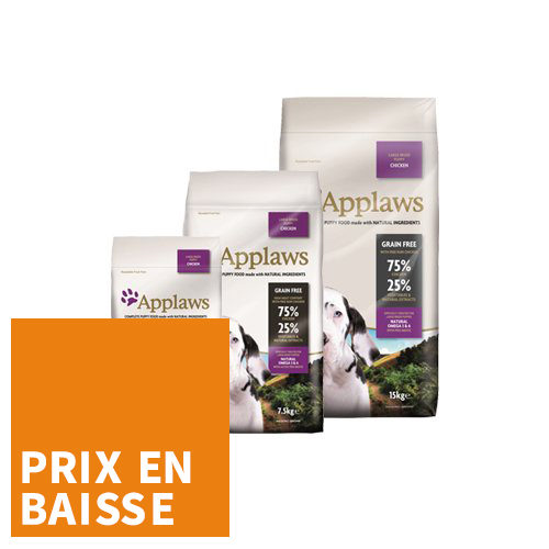 Applaws Puppy - Large Breed - Poulet - pour Chiot