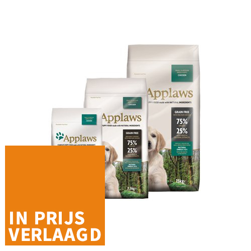 Applaws Puppy - Small & Medium - Chicken
