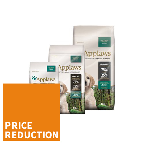 Applaws Puppy Food - Small & Medium - Chicken
