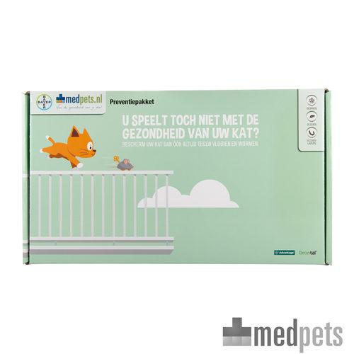 Product afbeelding van Bayer Preventiepakket Kat
