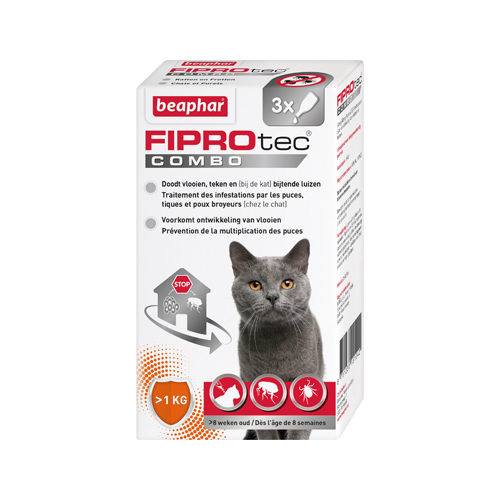 Beaphar Fiprotec Combo Spot-on Katze