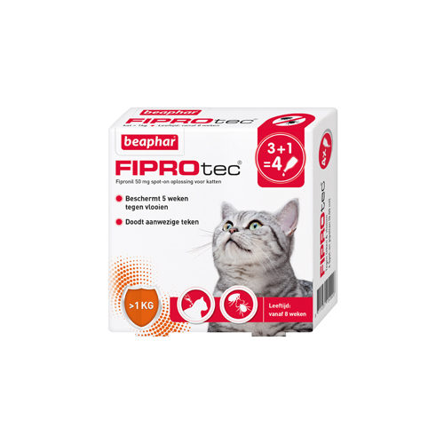 Beaphar FiproTec Spot-On for Cats