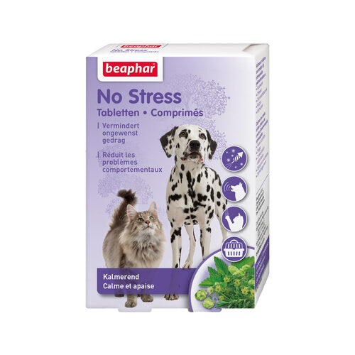 Beaphar No Stress Tablets - Dog & Cat
