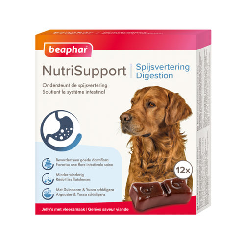 Beaphar NutriSupport Digestion - Complément Alimentaire pour Chien & Chiot