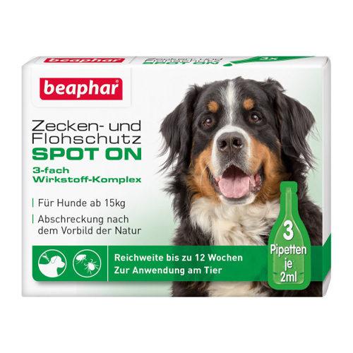 Beaphar Zecken- und Flohschutz Spot-On für große Hunde