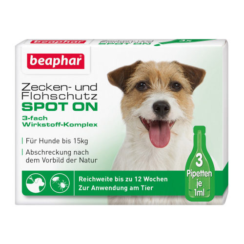 Beaphar Zecken- und Flohschutz Spot-On für kleine Hunde